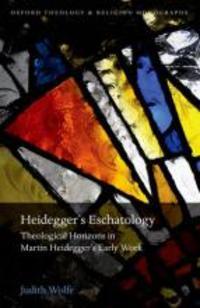 Heidegger's Eschatology